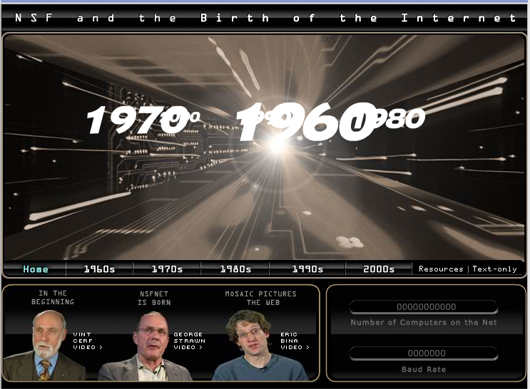 History of the Internet by Natl. Science Foundation